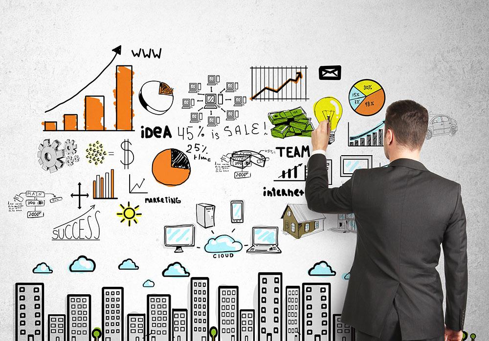 Criar um bom plano de marketing e vendas te ajuda a criar palestras mais persuasivas.