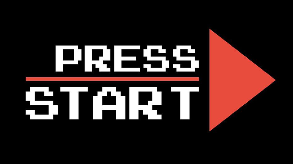 """Chamada para ação é uma das técnicas de vendas esquecidas, mas essenciais. A imagem mostra a tela de um videogame escrito """"Press Start"""" com uma seta."""