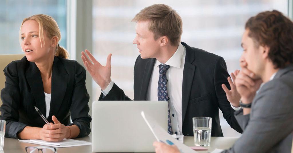 Como lidar com conflitos no ambiente de trabalho!